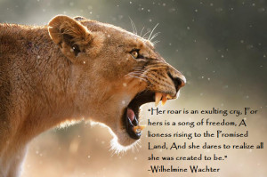 and lioness quotes lioness quotes women siena has three tiny cubs so ...
