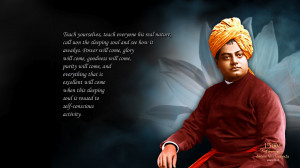 Swami Vivekananda inspire by this quotes