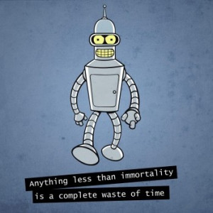 Bender Futurama funny quotes jigsaw puzzle
