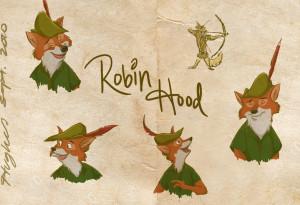 Robin Hood by xSilverwingx