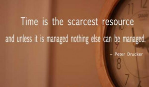 time is the scarcest resource