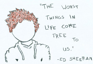 ed sheeran wall quotes tumblr