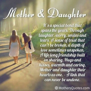 Mother daughter quote
