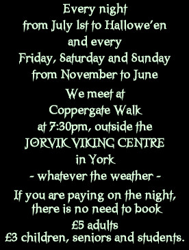 Facebook Creeper Quotes York ghost walk - time,