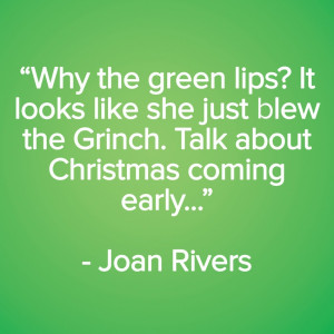 Joan Rivers One Liners