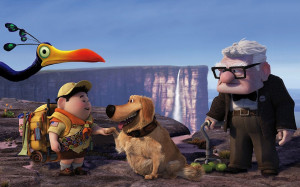 Pixars UP Movie wallpaper