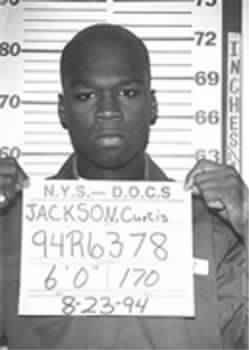 young Curtis Jackson aka 50 Cent