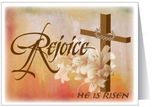 Christian Easter Greeting Card