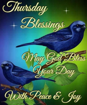 Thursday Blessings Pictures, Photos, and Images for Facebook, Tumblr ...