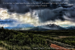 Fan Favorite Image: Thunderstorm in the Rockies
