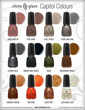 Hunger Games Nail Polish Is Here