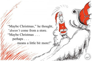 Christmas Quotes Tumblr ~ Quotes From Dr Seuss How The Grinch Stole ...