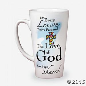 Sunday School Teacher's Mug