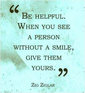You can't help a person who isn't willing to help themselves