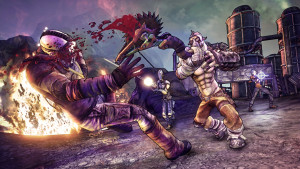 Borderlands 2: Hands-on with Krieg the Psycho Bandit