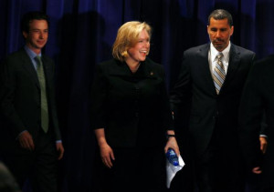 Kirsten Gillibrand to replace Hillary Clinton in the U.S. Senate