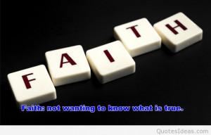 Photo cute faith quote