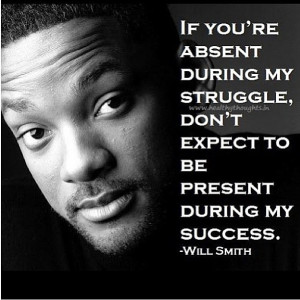 Photos / Will Smith's motivational quotes on Instagram