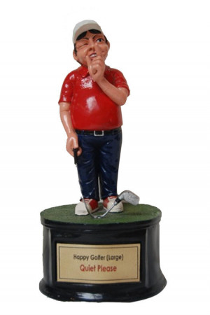 funny golfer quiet please golf trophies philippines available in 2