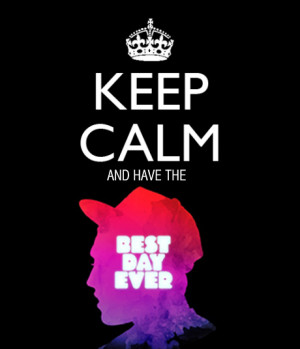best day ever, keep calm, mac miller, rapper - inspiring picture on ...