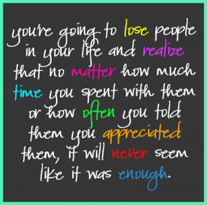 Loss Quote Quotes About Losing A Loved One To Cancer