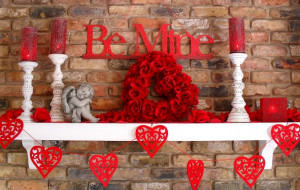 Decorar la casa en San Valentín