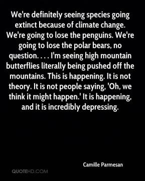 because of climate change We 39 re going to lose the penguins We