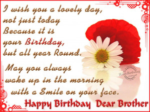 favorite birthday quotes for brother