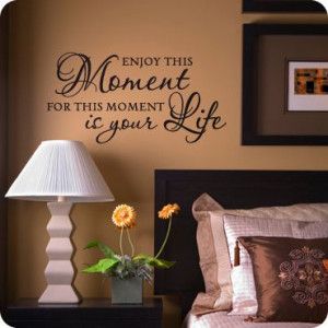 you can buy all kinds of sayings and wall art to put on walls, canvas ...