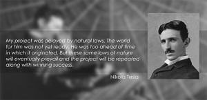 Nikola Tesla Quotes Energy
