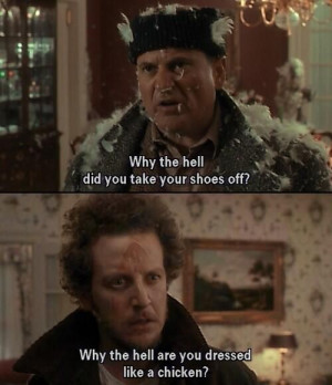 Home Alone. xD