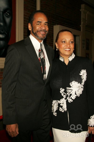 Tim Reid And Wife Daphne Arriving At The Opening Of Actor Denzel ...