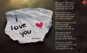 Te Amo Forever ...! ! !