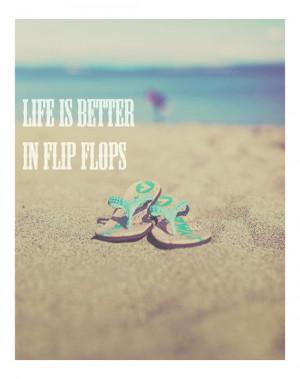 flip flops summer quote #summer #quote #beach #flipflops #dreamy # ...