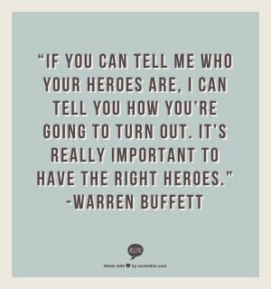 My Hero Quotes