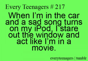 Every Teenagers - Relatable Teenage Quotes   We Heart It