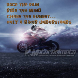 Motorcycle Quotes Sayings For Bikers Bikers' quote gallery