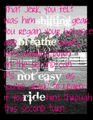 Barrel Racing Quotes Tumblr Picture