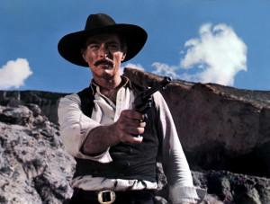 Taking aim in The Big Gundown (1966).