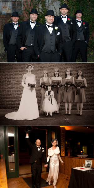 1940 wedding theme