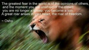 Osho Quotes On Freedom