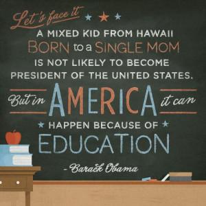 Obama #USelection #equality #education