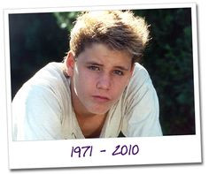 Corey Haim - I'm 31 now, and still melt, and once again, become a ...