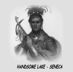 HANDSOME LAKE - SENECA 1800s Images