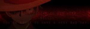 One Piece Quotes Luffy Quote Sky Mistress Deviantart
