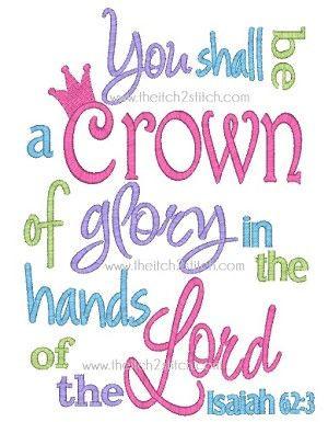 ... Crowns, Isaiah 62 3, Princesses Crowns, Christian Princess Quotes