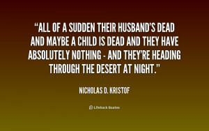 Dead Husband Quotes