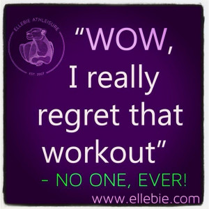 Great workout quote
