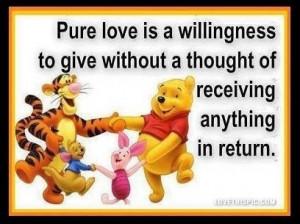 Tigger Love Quotes Pure love love love quotes quotes cute quote ...