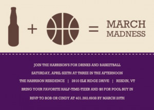 march madness funny quotes march madness party